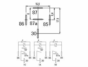 12v 30a auto mini relay with ledchina zhongji mini relay external dimension wiring diagram 12v30aautominirelaywithled1 12v30aautominirelaywithled2 asfbconference2016 Gallery